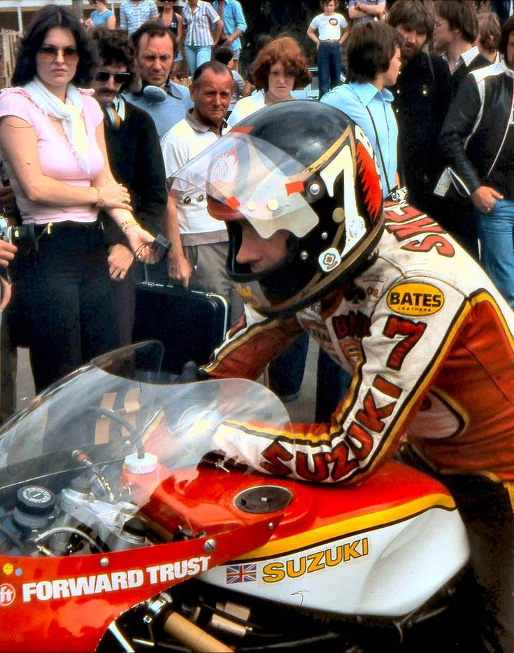 Barry Sheene Suzuki #7