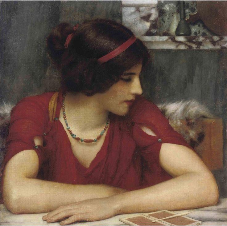 John William Gdward - jeune fille classique