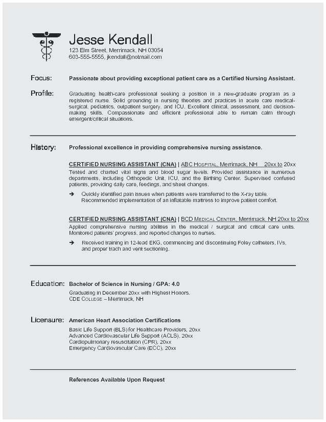 65 Elegant Collection Of Example Resume Objective For Healthcare