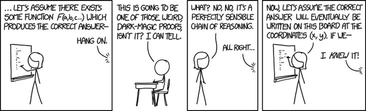 Next, let's assume the decision of whether to take the Axiom of Choice is made by a deterministic process ...