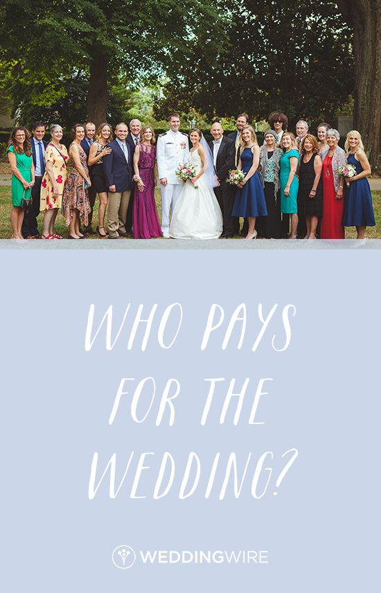 676 best wedding etiquette advice images on pinterest easy who pays for the wedding before you can figure out your wedding budget junglespirit Images