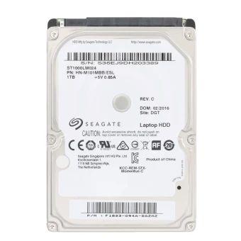 ราคาถูก  Seagate 1TB Laptop HDD Internal Notebook Hard Disk Drive 7mm5400RPM SATA 6Gb/s 16MB Cache 2.5-inch ST1000LM024  ราคาเพียง  2,155 บาท  เท่านั้น คุณสมบัติ มีดังนี้ Slim and lightweight style for laptop and notebook use. Store data faster with SATA 6GB/s interface. Noise Guard and Silent Seek noise control technology. Large storage capacity for everyday laptop and computingstorage.