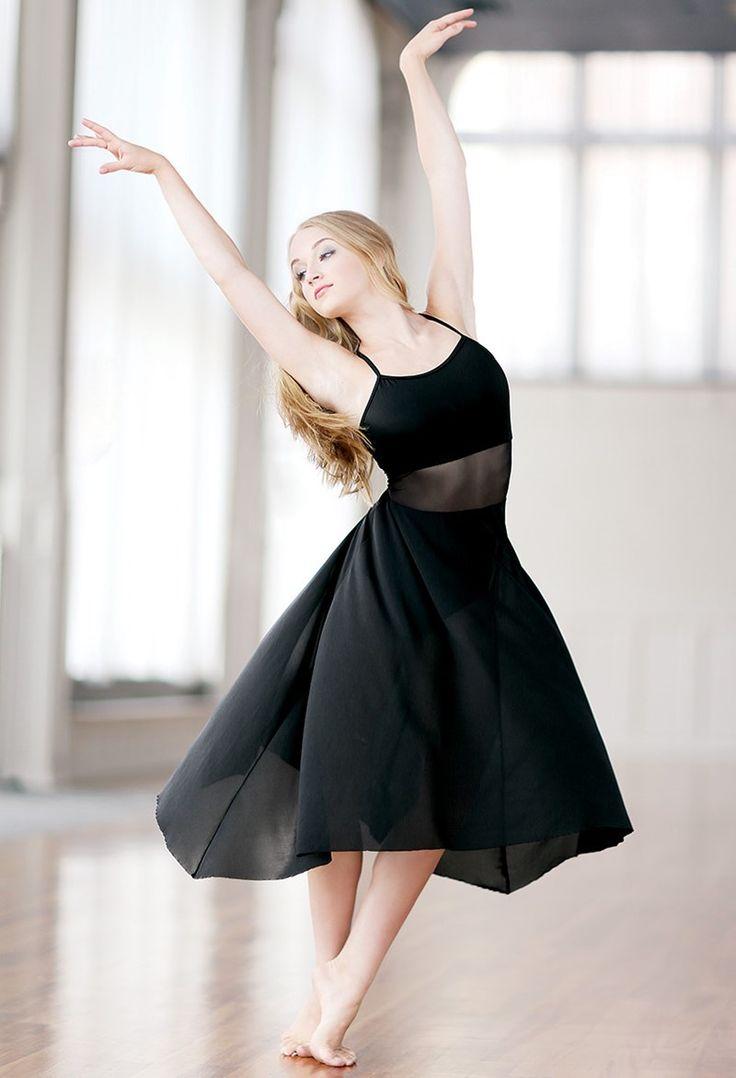 Asymmetrical Matte Lycra Dress | Balera™