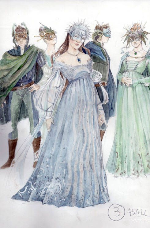 Costume design for Romeo and Juliet (2013), by Swarovski and costumer Carlo Poggioli