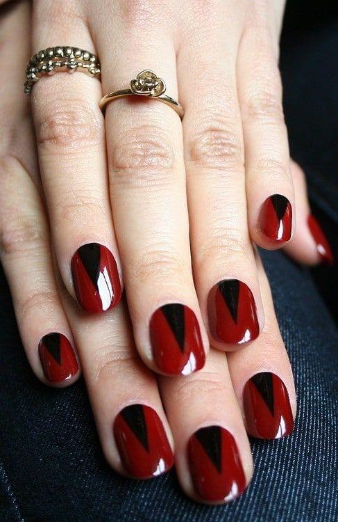 Inspirierende rote Nägel für die bevorstehenden Feiertage – FRAU