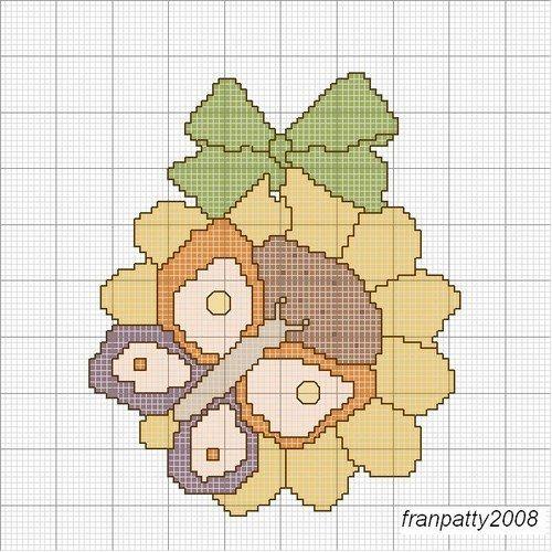 Schemi punto croce - Formella thun