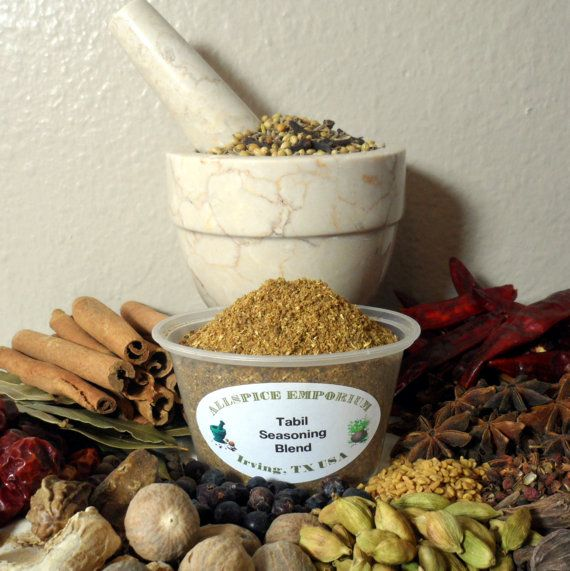 Tabil Seasoning Blend, Spice Blend, Spice Mix, Herb, Spice, African S ...