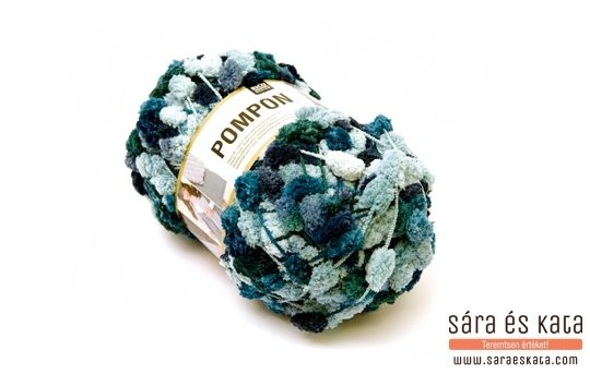 Our Pompon yarn can be used in lots of different ways: whether for knitting scarves and accessories or in crafting!