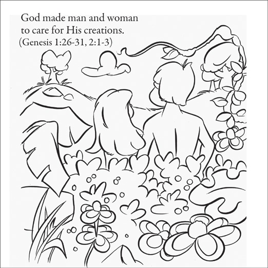 Creation Coloring Pages For Kindergarten : Best images about teaching creation story on