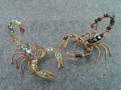 Perlen-Draht-Spinnen-Tutorial – YouTube  #draht #jewelryideas #perlen #spinnen #… – Claudia Horn