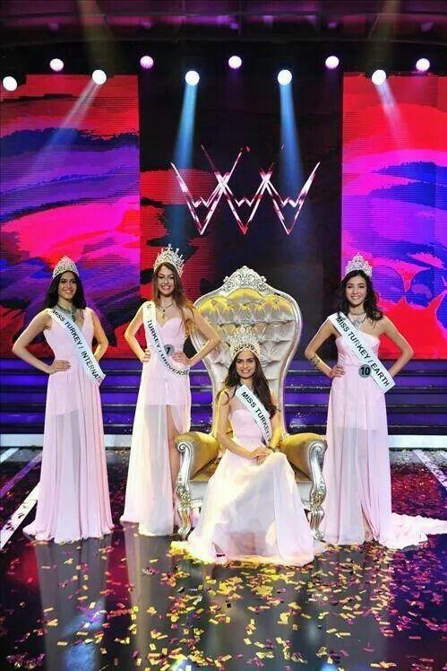Miss Turkey 0214 Amine Gulse
