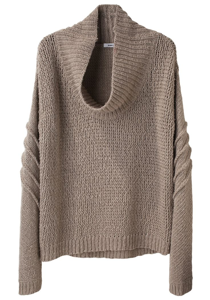 Helmut Lang Cowl Neck -- I just need every sweater in the WHOLE world. Is that too much to ask?