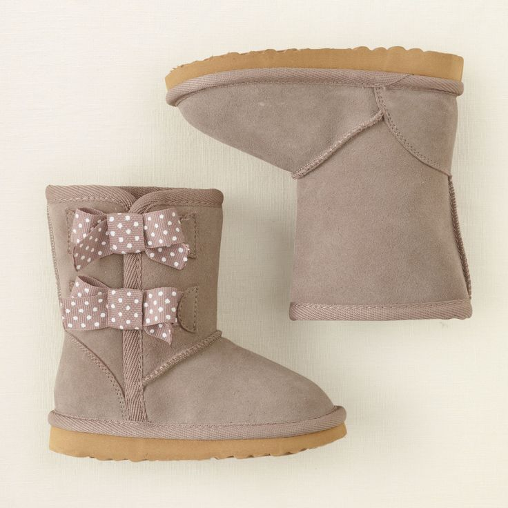baby girl - shoes - chalet bow boot | Children's Clothing | Kids Clothes | The Children's Place