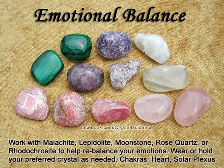 Crystals for emotional balance