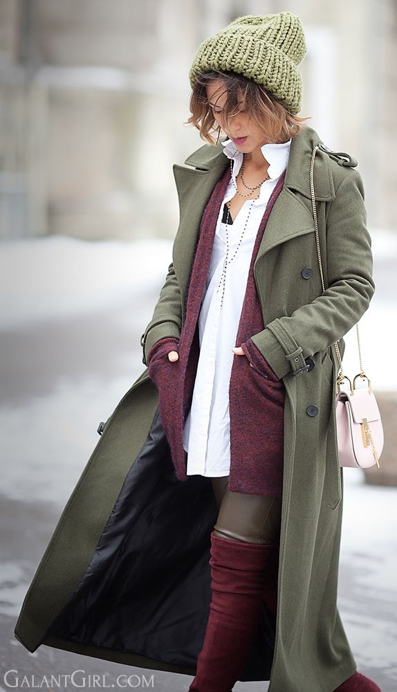 #military #coat #Outfit for #winter