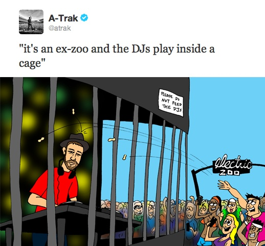 A-Trak Explains the Origins of the Electric Zoo Festival: A Trak Explains, Festivals, Festival Life, Zoos, Crazyelectriczoo Com