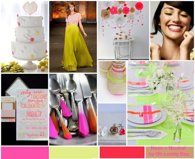 Neon Wedding Ideas: Colorpattern Inspiration, Color Boardspalett, Bright Color, Inspiration Boards, Neon Wedding, Modern Neon, Neon Color, Bright Neon, All Neon Palettes