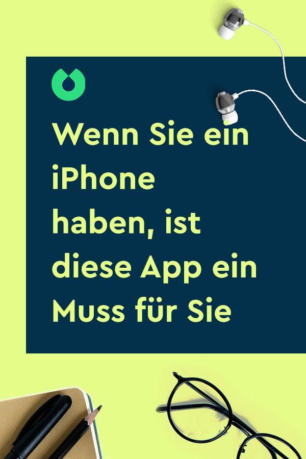 Wenn Sie ein iPhone haben, ist diese App ein Muss für Sie