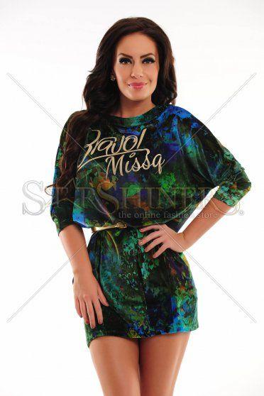 Rochie MissQ Young Spirit Green
