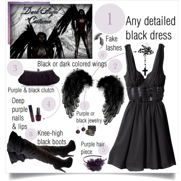 """DIY Dark Angel Costume"".... I suppose I can go the modest route for work."