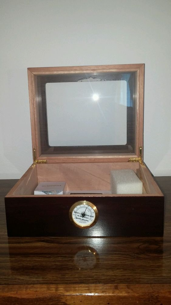 Cigar Humidor,Humidor humidifier, Cigar Humidor New Hygrometer Humidifier .NEW #QualityImporters