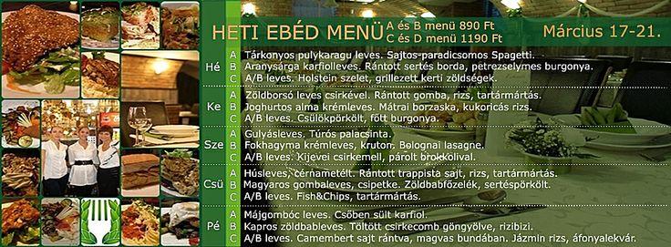 Babér Bisztró Étterem Ideális Rendezvényhelyszín! Minden nap minőségi, változatos ebéd menü! A menü, B menü, Prémium menü, XXL menü, Vegetáriánus menü. Ingyenes ebéd házhoz szállítás a VI.-VII. kerületben. Rendelés: 720-3328, +36 30 9000 550 www.baberbisztro.hu www.facebook.com/baberbisztro Like, ha tetszik! Köszönjük! Local food restaurant Budapest