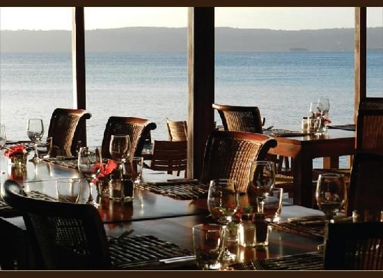 Elan restaurant.  8 minutes out of town.   Number 2 in Port Vila. Wed-Sat…