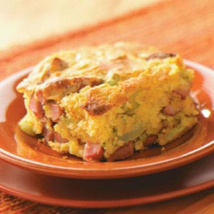 Corn Dog Casserole Recipe / This was fairly easy to make and it was ...