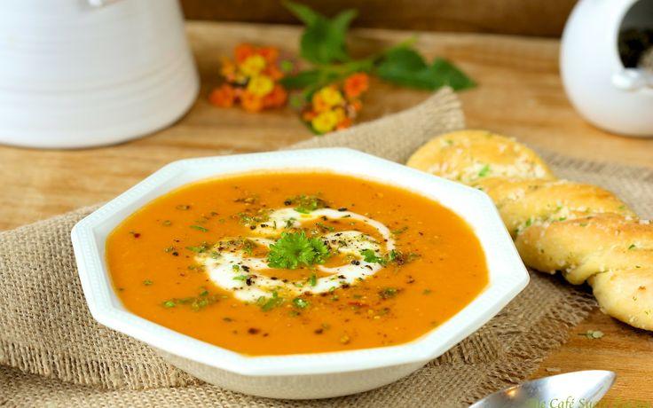 Tuscan Chickpea Soup w/ Melting Mozzarella and Rosemary Gremolata