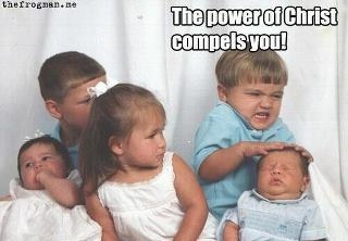 The power of Christ compels you!Demons, Families Pictures, Funny Stuff, Families Photos, Kids, Jim Carrey, Families Pics, So Funny, Families Portraits