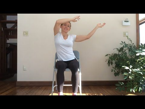 Fun and Playful - Viki Boyko leads this 30-min Chair Yoga Seated class - YouTube