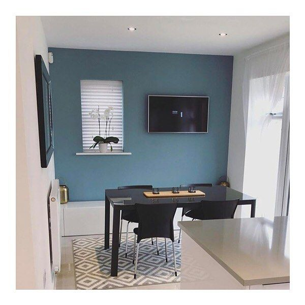 Image By M C On Kitchen Room Design Blue Paint Living Room Blue