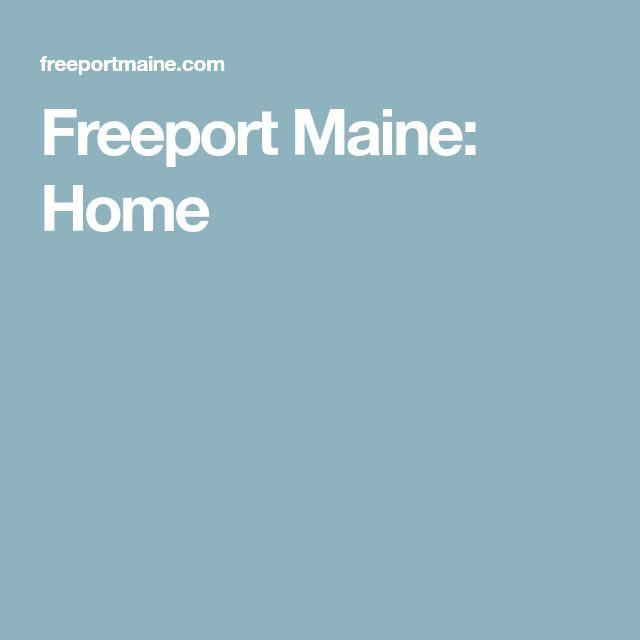 Freeport Maine: Home
