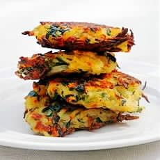 Bubble and Squeak Rösti Recipe  For low fat - replace the flour and butter with oatmeal and cottage cheese. This will be good with sweet potato.