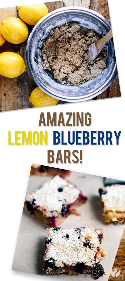 ... Bars, Blueberries, Lemon Bars Blueberry, Blueberry Lemon Bars, Lemon