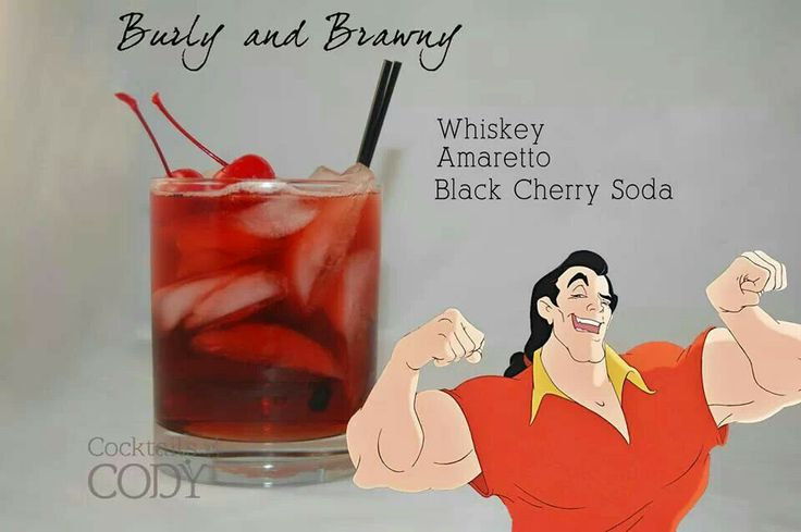Disney's mixed drinks