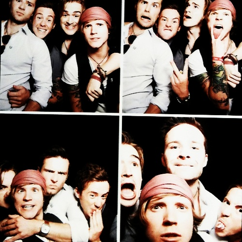 McFly boys being themselves.