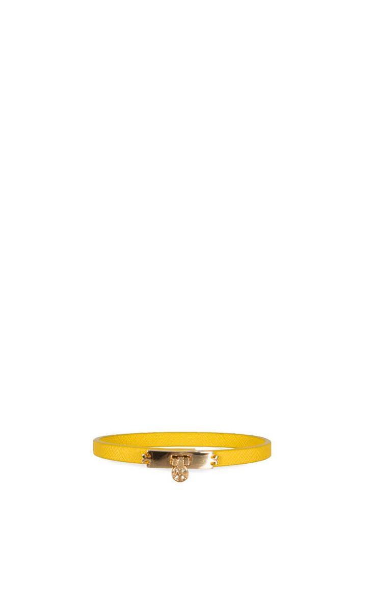Armband Turnlock YELLOW - Tory Burch - Designers - Raglady