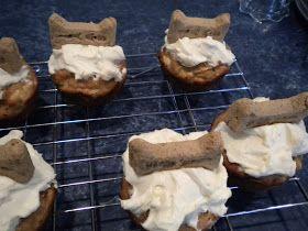 Savory Flavors: Happy Birthday Pupcakes!