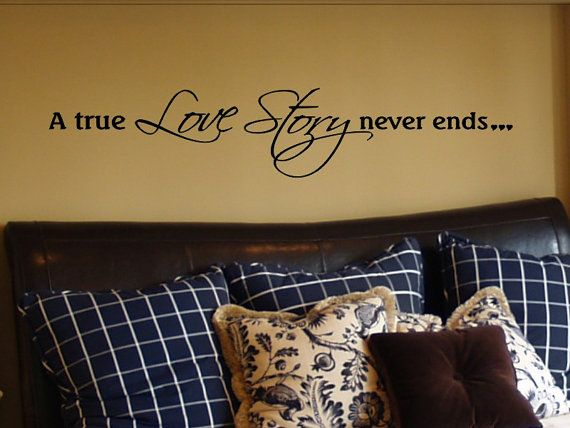 lQuotes Decals, Wall Decor, Bedroom Walls, True Love, Wall Quotes, Master Bedrooms Decals, Quotes For Master Bedrooms, Bedrooms Ideas, Bedrooms Wall