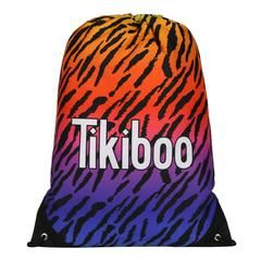 Tikiboo Spectrum Tiger Drawstring Bag £14.99 #Activewear #Gymwear #FitnessLeggings #Leggings #Tikiboo #Running #Yoga  #GymBag
