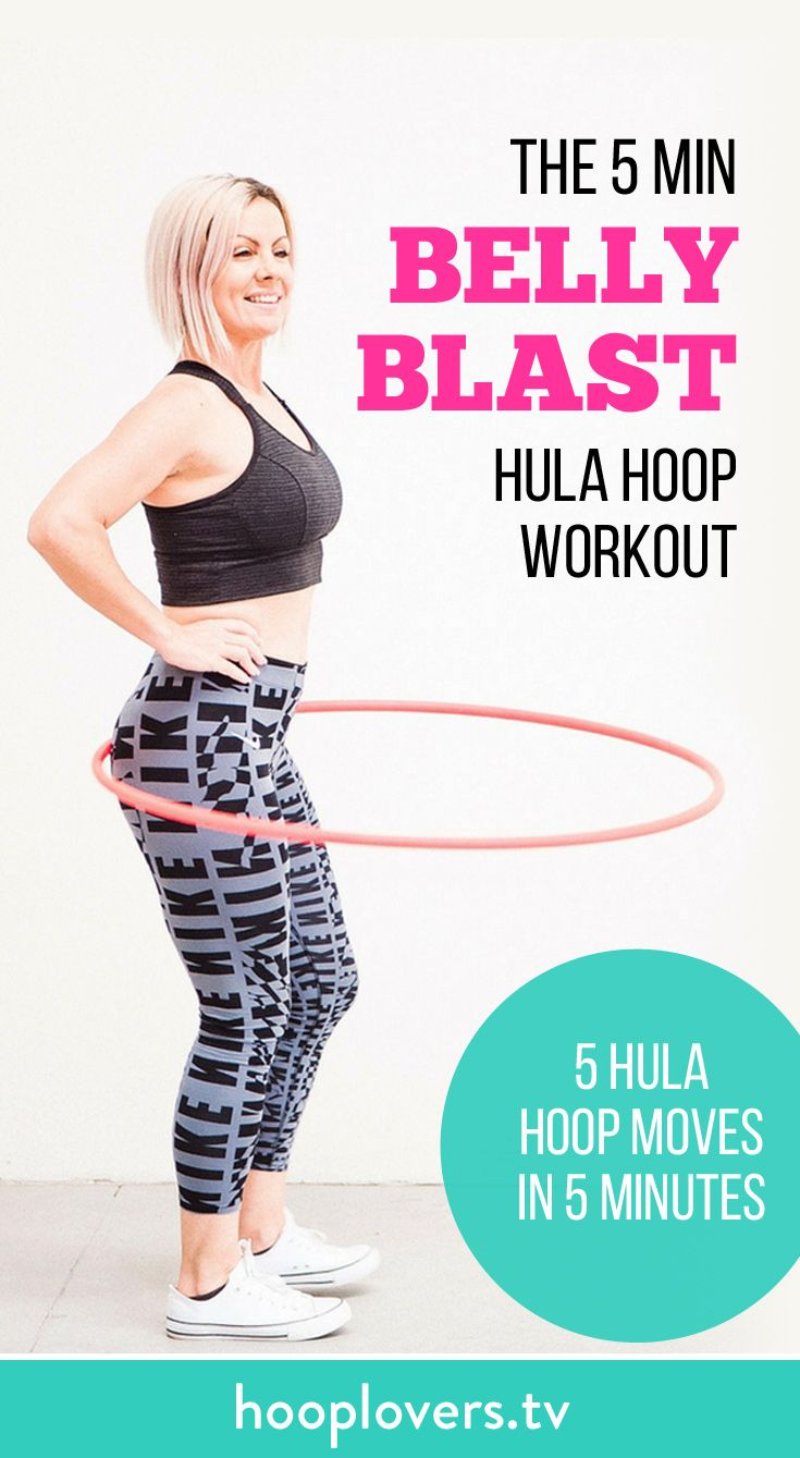 5 Minute Calorie Blasting Hoop Workout