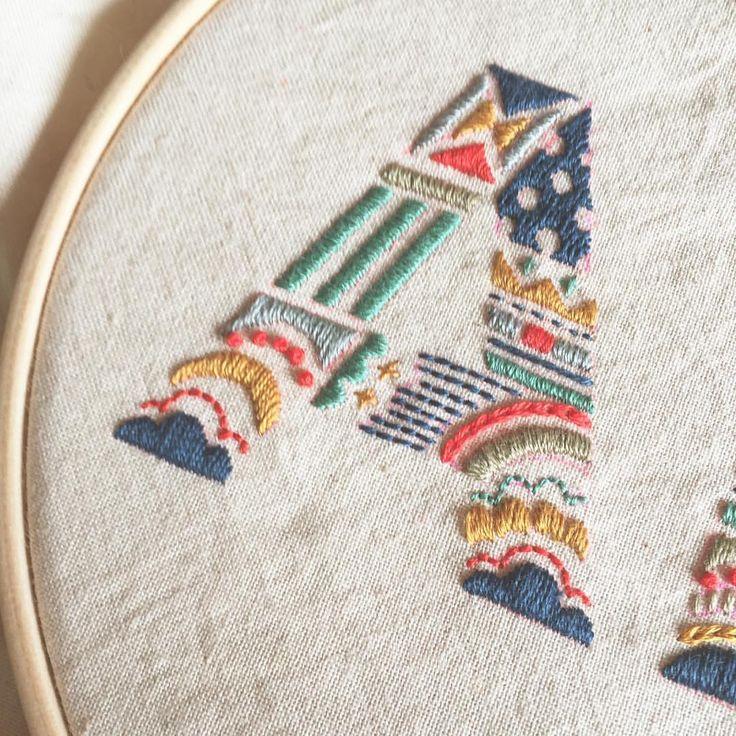 いいね!1,063件、コメント9件 ― a t s u m iさん(@itosigoto)のInstagramアカウント: 「 #embroidery #handembroidery #刺繍 #ordermade」