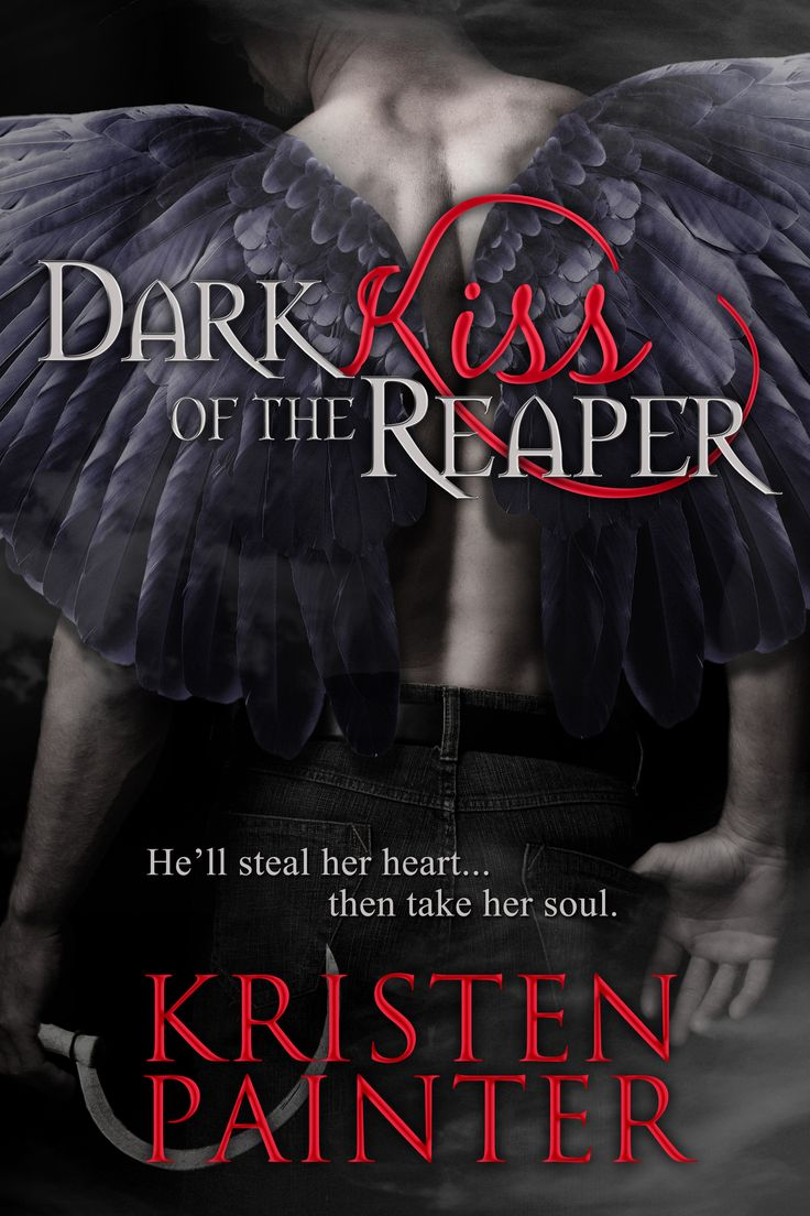 Dark Kiss Of The Reaper  Paranormal Romance Nice Cover! Cover Love