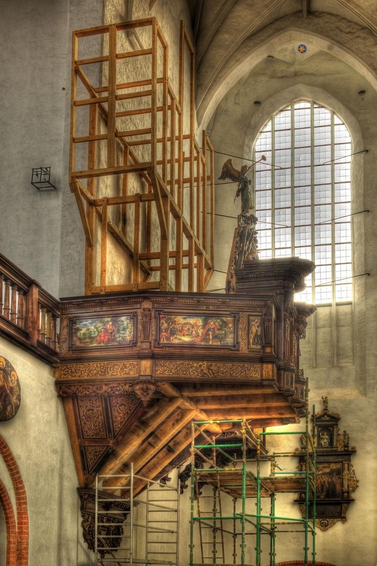 Odbudowa Organów w Kościele Św. Trójcy w Gdańsku / Reconstruction of Pipe Organ in św. Trójcy Church in Gdansk   #pipeorgan #church