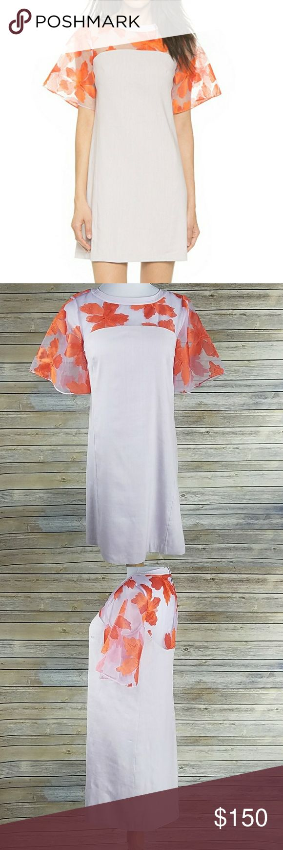 *Rebecca Taylor Dress* Beautiful floral organza dress fully lined with hidden zippered back in great condition! Make an offer. Rebecca Taylor Dresses Mini