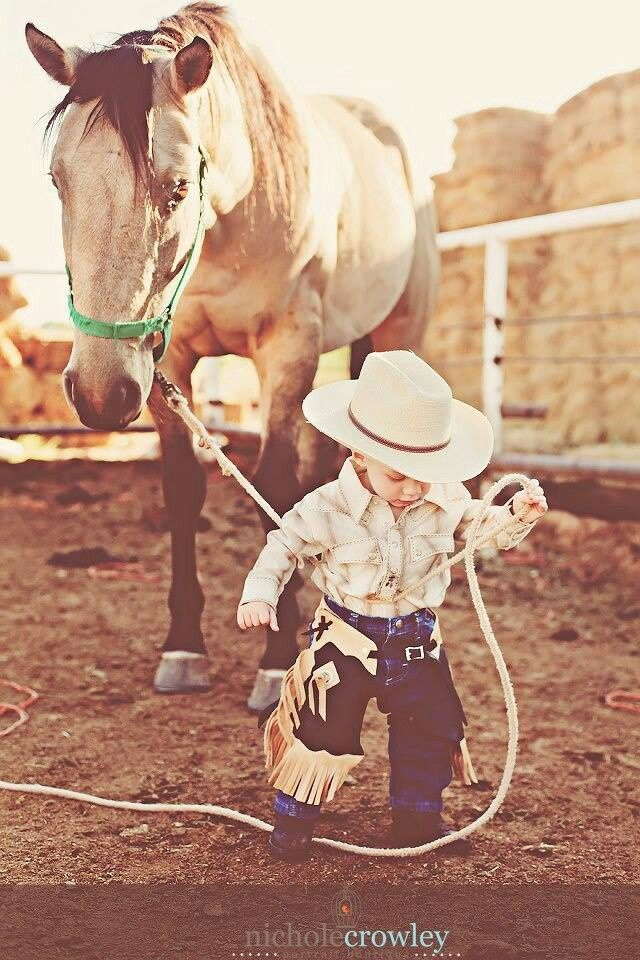 117 Best Images About Cute Kids Lil Cowpokes And Cowgirls
