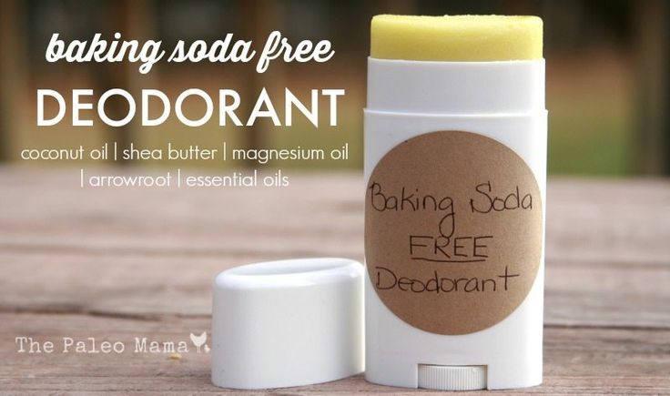 This Baking-Soda Free Deodorant if you have sensitive skin. The addition of magnesium oil helps keep stink at bay while giving you a magnesium boost!
