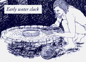 Early water clock