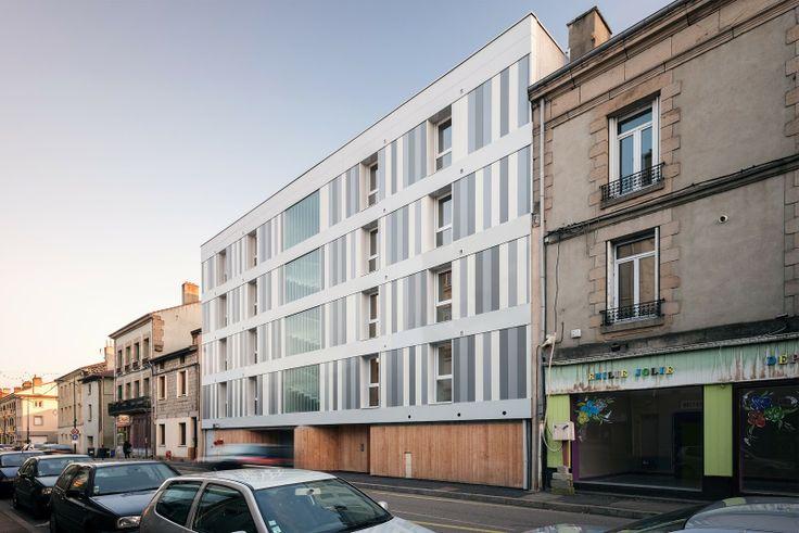 Zoomfactor Architectes 11 housing bbc . firminy